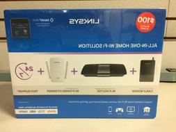 Linksys All-In-One Home Wi-Fi Bundle: Cable Modem + AC1600 R