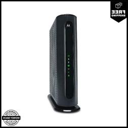 MOTOROLA MG7550 16x4 Cable Modem With AC1900 WiFi Router Com