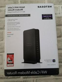 NETGEAR N600  WiFi Cable Modem Router~802.11n~DOCSIS 3.0~
