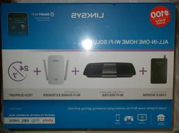 Linksys All-In-One Home Wi-Fi Solution - Modem, AC1600 Route